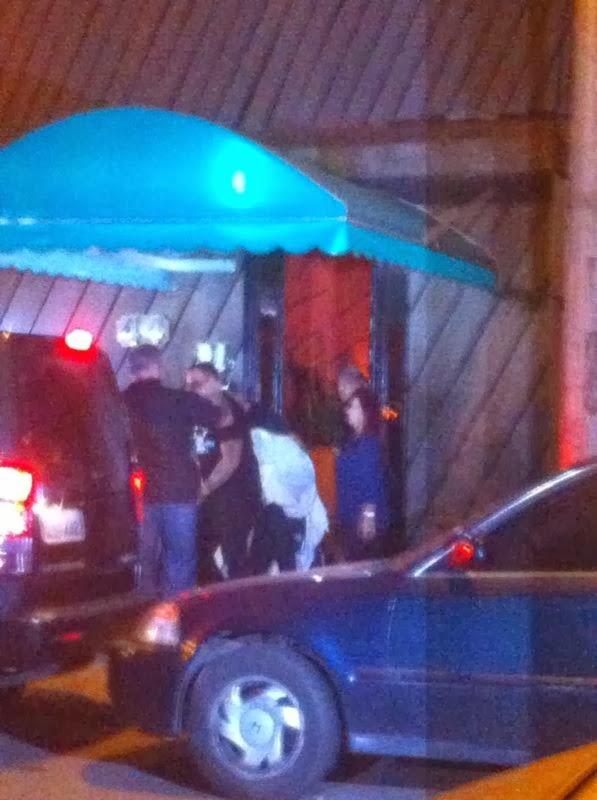 Justin Bieber saindo do puteiro no Rio de Janeiro