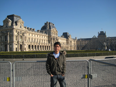 Back in the Louvre