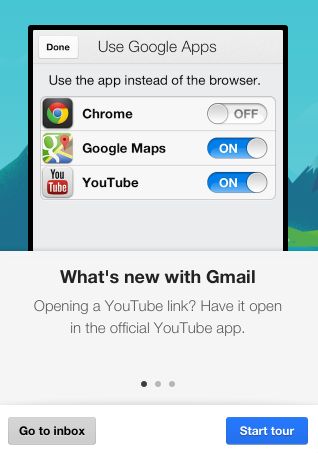 Open Gmail Links Using Google Apps in iOS