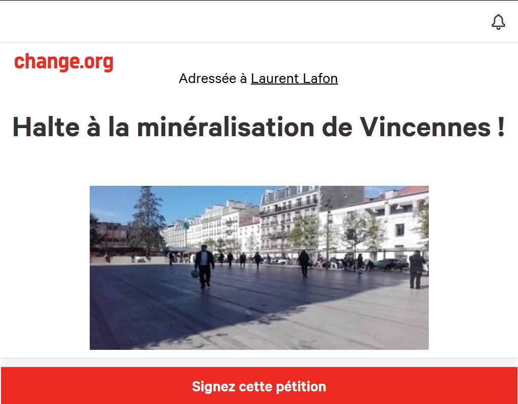 La pétitions d'ADEQUALVIE94