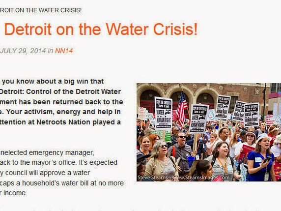 Victory In Detroit On The Water Crisis! Sewage Department Returned Back To Hands Of People