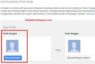 cara membuat blog di blogger 2
