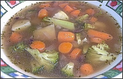 Quick & Easy Vegetable Soup image