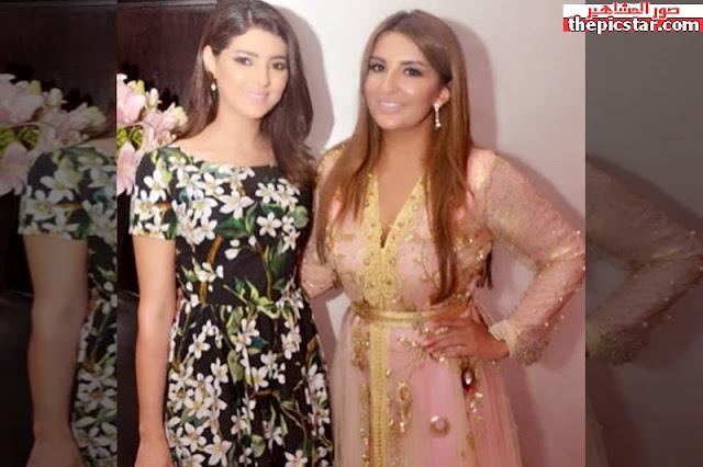 مريم سعيد مع المغنية العراقية شذى حسون