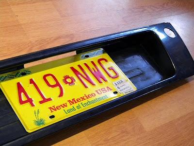 Przeróbka blendy pod tablicę rejestracyjną na USA style - Audi A6 C4 avant.. czyli samochodowa chirurgia plastyczna ;)