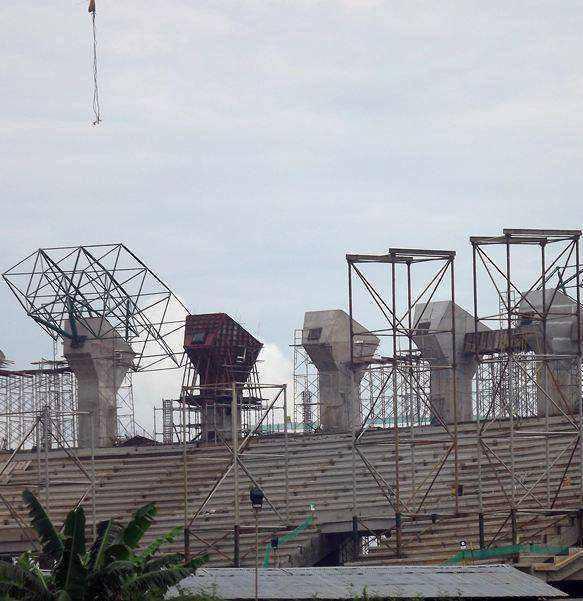 Update Foto Stadion Pakansari Bogor Mei, Juni 2013 | Berita Terbaru