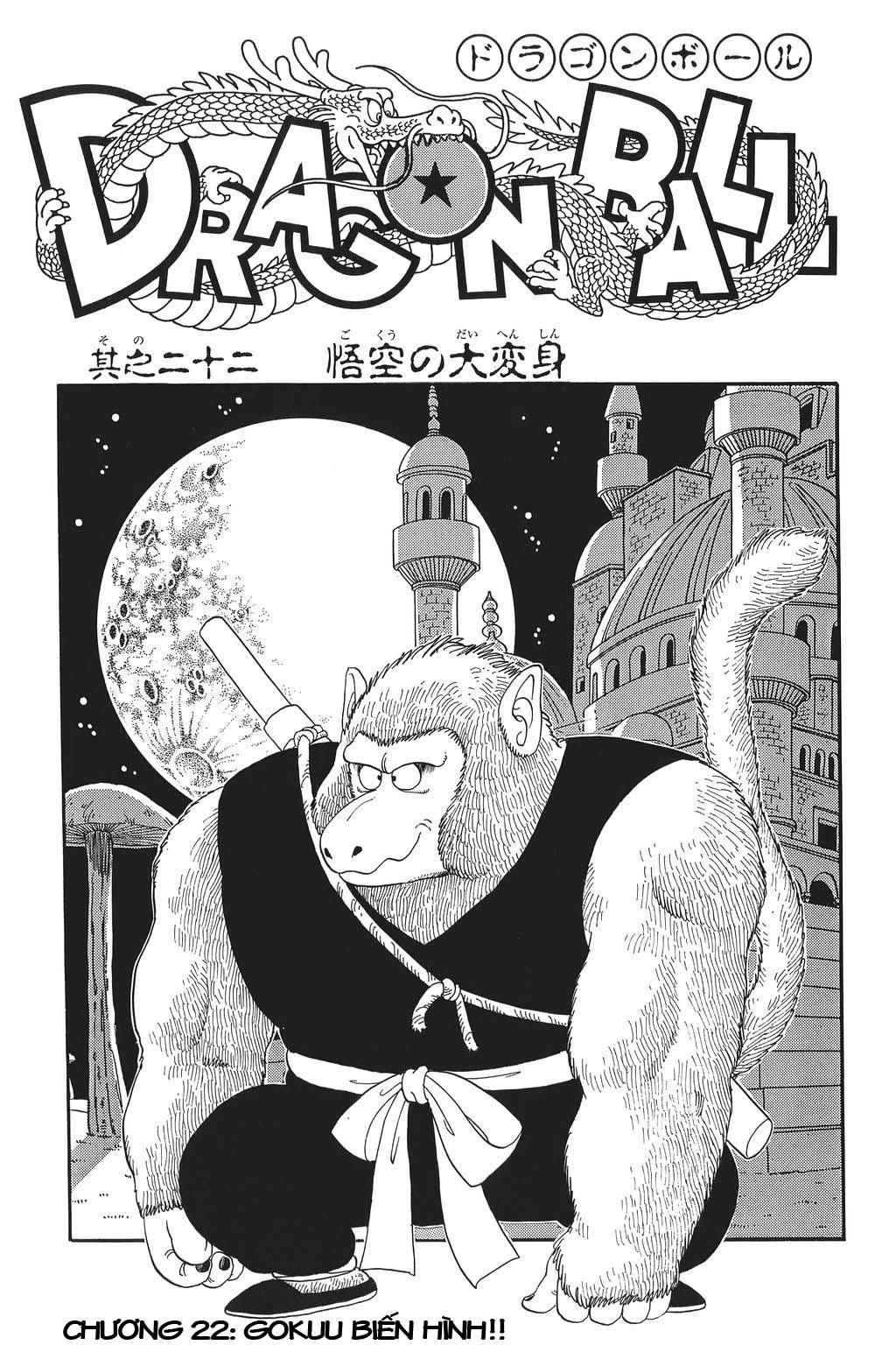 TruyenHay.Com - Ảnh 1 - Dragon Ball Bản Gốc Tiếng Anh Chapter 22