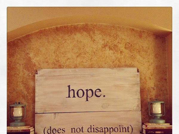 2014: Hope