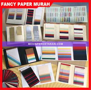 Daftar toko kertas fancy paper murah di Jakarta