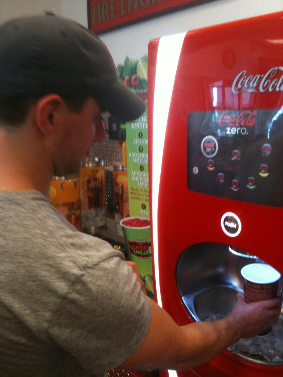 touch screen soda machine hack