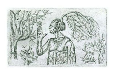 Élet fája (rézkarc)