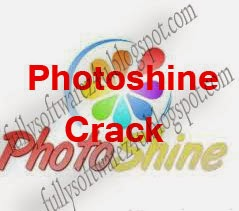 Photoshine Crack Serial Number Free Download
