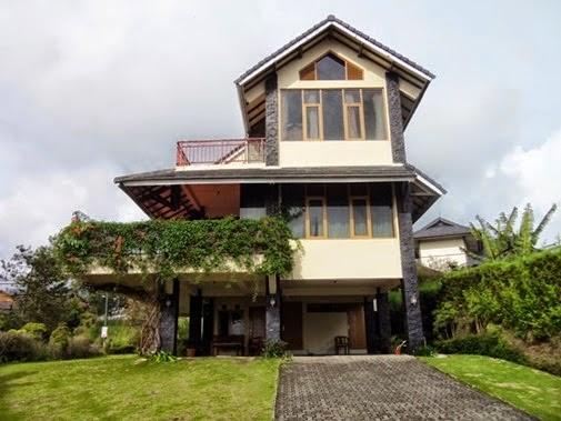 Villa Onavit istana bunga Lembang