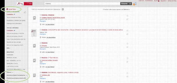 Nuevas funcionalidades en nuestro buscador Xabio.