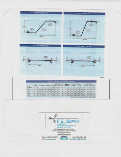 Fs Supply Co Specifications For Pz32 Pz35 Pz38 And