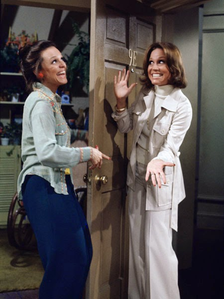 "Mary's MTM productions spun-off many TV hits like ""Rhoda,"" starring Valerie Harper."