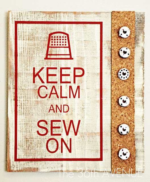 Оформление уголка для работы с рукоделием и шитьем.
