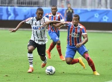 Bahia perde para o Corinthians e se complica ainda mais