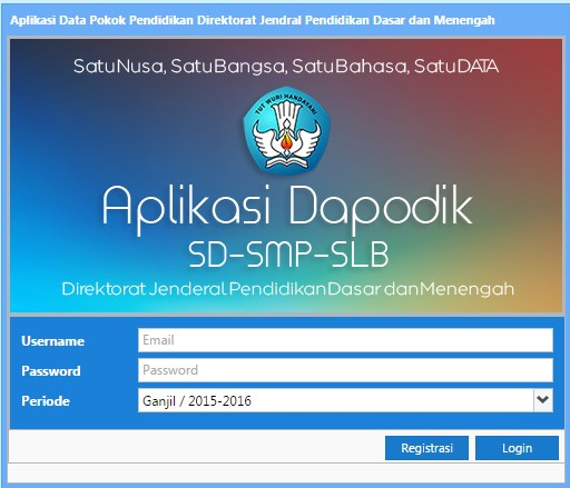 Installer Aplikasi Dapodikdas 4.0.0 Terbaru 2015