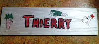 DIY Wood Name Plate Phineas and Ferb by Upcycle Fever