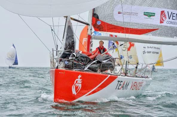 Team Vendée sur la Solo Maitre CoQ.