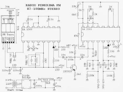 Radio penerima fm stereo tuner fm stereo skema rangkaian elektronika radio penerima fm stereo tuner fm stereo ccuart Image collections