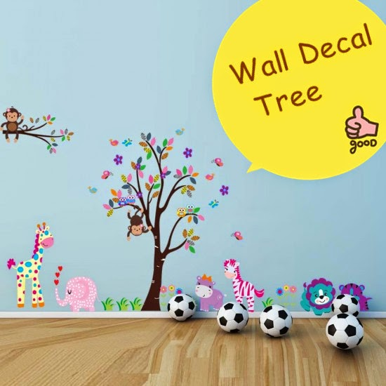 Nice Before I get into our exciting new playtime gem I want to tell you a little bit about the shop from which it came called Wall Decal Tree