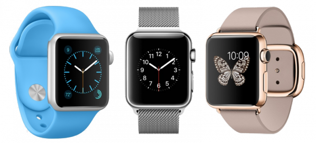 Trio Apple Watch