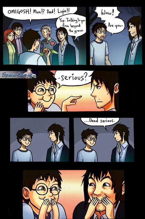 funny Harry Potter comics