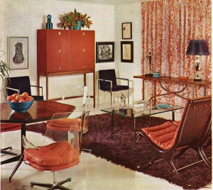 1960s Design Adorable With 1960s Style Interior Design Images