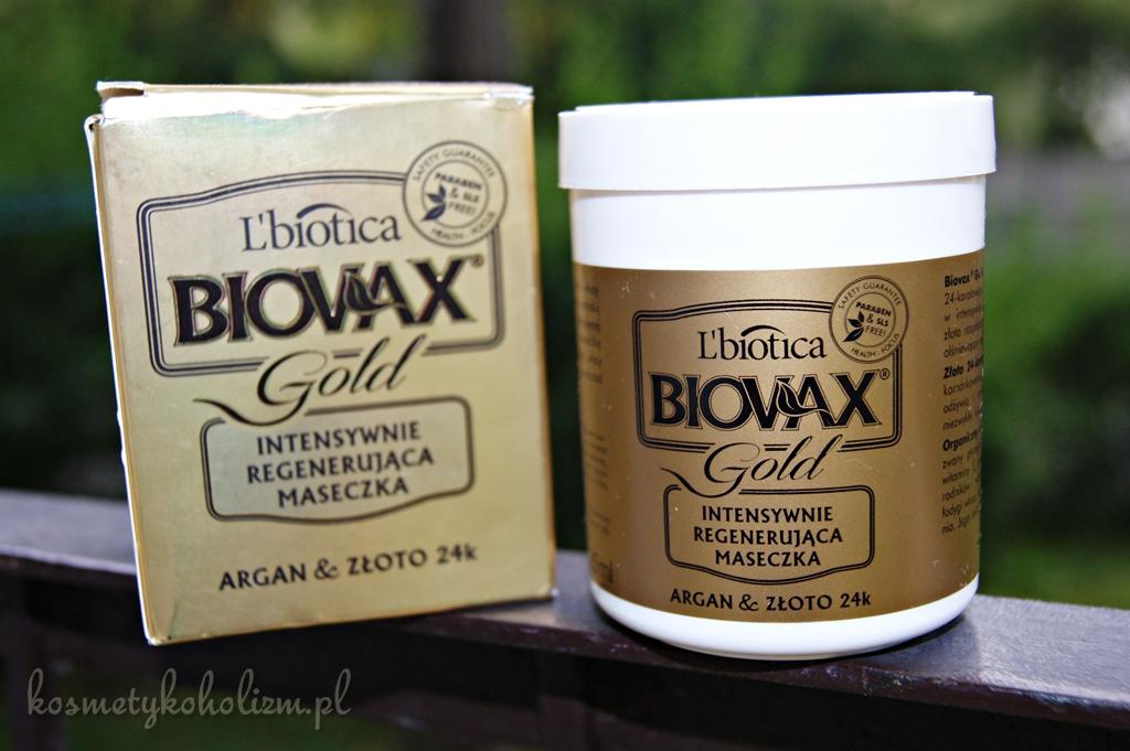 BIOVAX | GLAMOUR GOLD | Maseczka do wszystkich rodzajów włosów