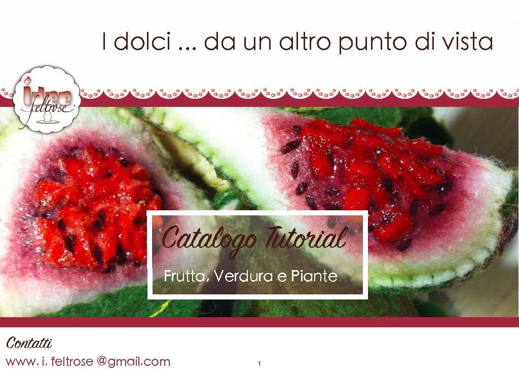 Catalogo frutta, verdura e piante
