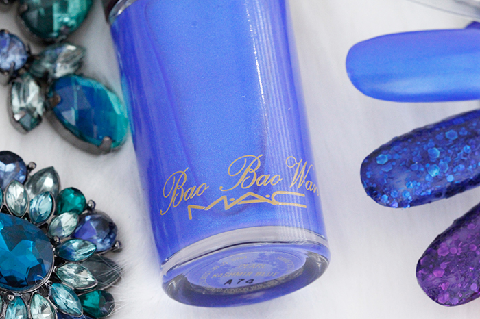 "MAC Boa Boa Wan Collection: ""Kashmir Blue"" Nail Polish"