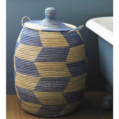 African basket hamper