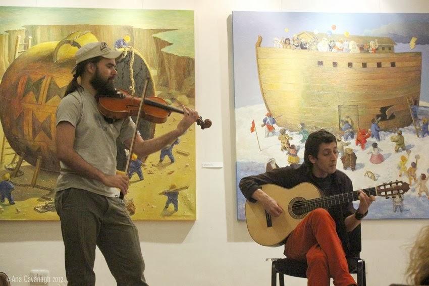 Muestra en el Espacio de Arte Latinoamericano Copppal