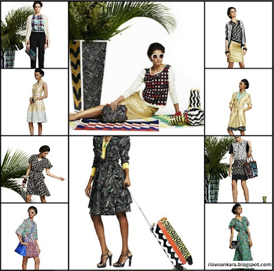 Duro Olowu jcpenney collabo - Spring 2013 Lookbook collage - iloveankara.blogspot.co.uk