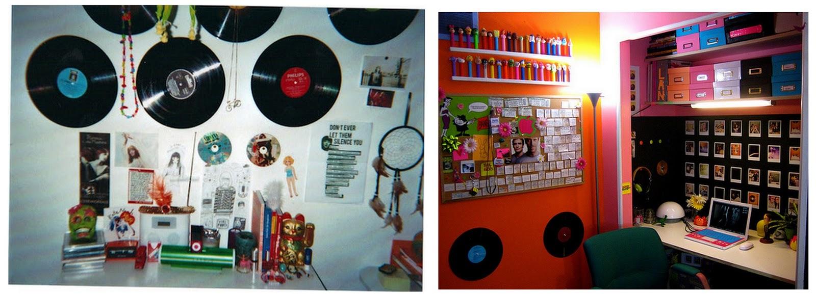 Oh Cherries ! DECORA u00c7ÃO Disco de Vinil! -> Decorar Com Discos De Vinil