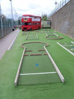Miniature Golf in Chiswick, London