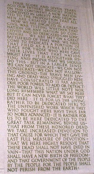 analysis essay on the gettysburg address