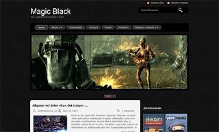 Magicblack WordPress Theme