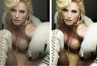 celebrities before photoshop