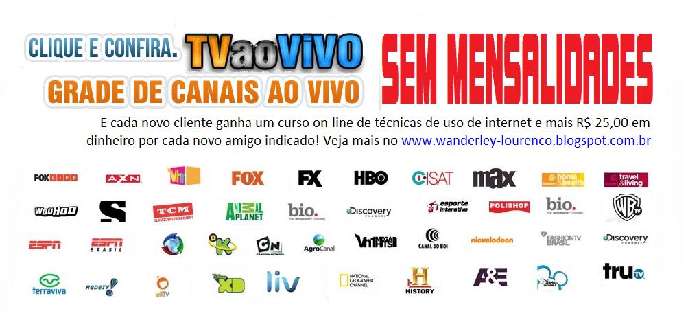 Chega de pagar mensalidades para ter tv a cabo!