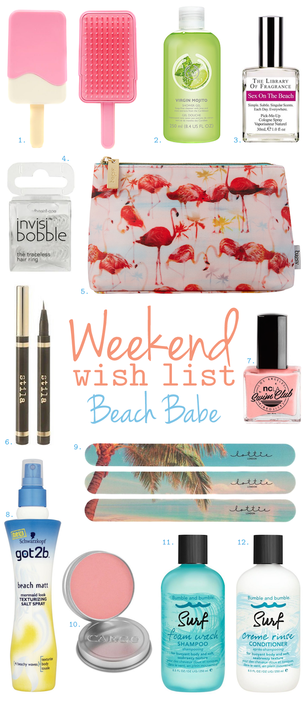 Weekend Wish List – Beach Babe