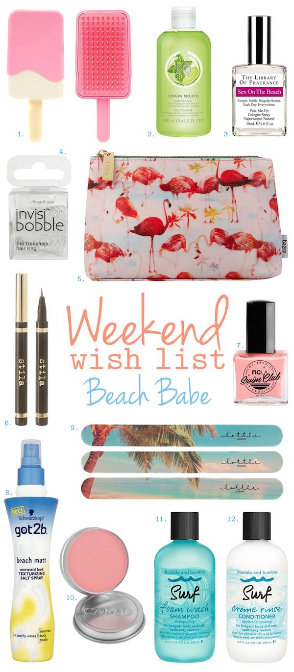 Weekend Wish List – Beach Babe