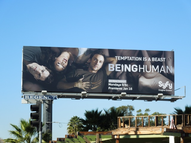 Being Human US season 2 billboard