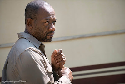 TWD 6x01 - Lennie James  como Morgan