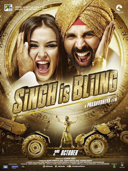 Poster of Singh Is Bling 2015 DVDRip Hindi