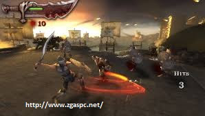 Free Download Game god of war chains of olympus PSP FOR PC Full Version ZGASPC