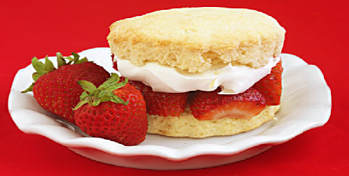 Resep Strawberry Short Cake Lezat