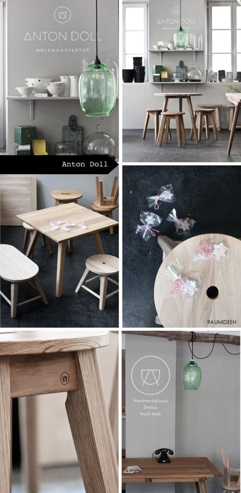 Vollholzmöbel aus Eiche - Tische, Hocker und Kindermöbel!